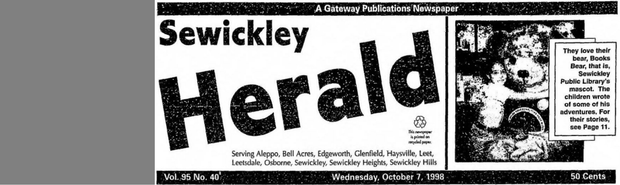 Search the Sewickley Herald!