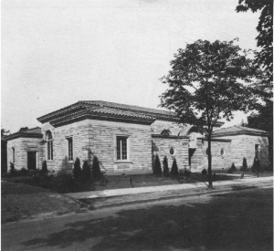 sewickley public library before addition