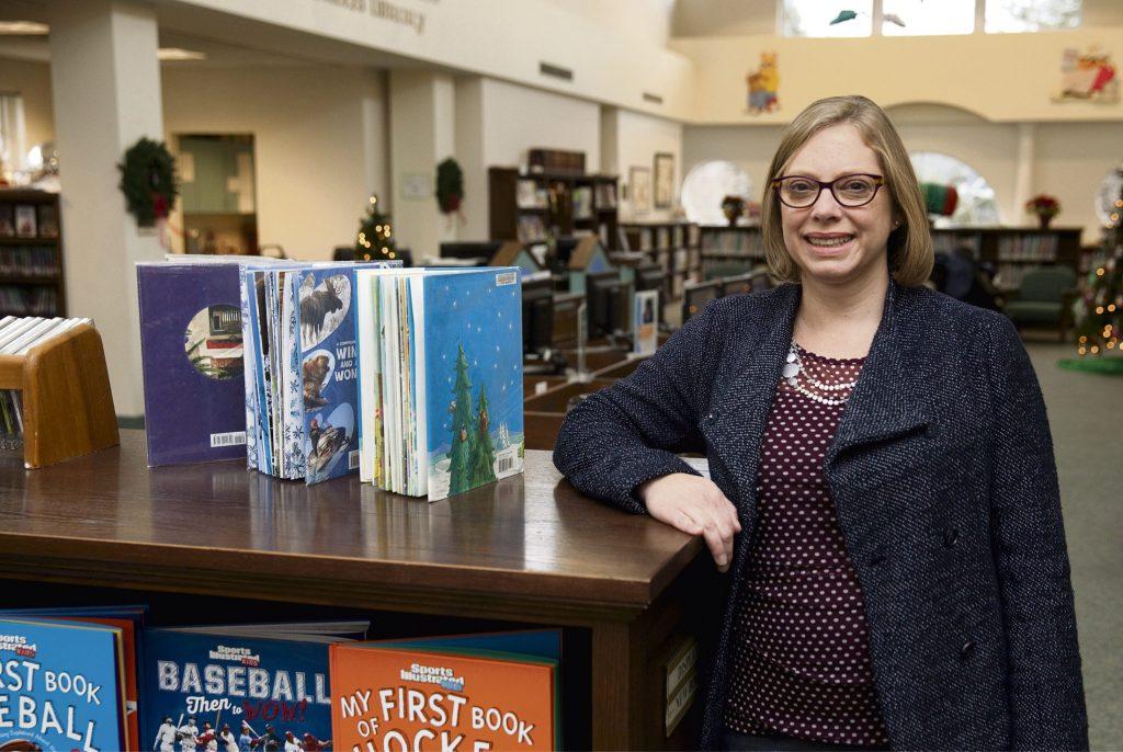 new children's librarian Jen Farmerie