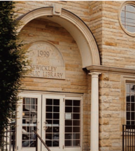 sewickley public library in 1999