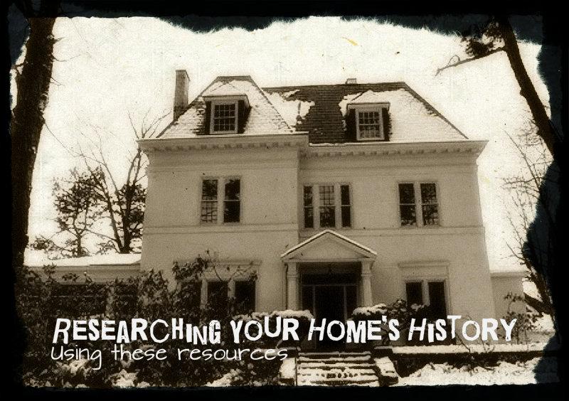 researchinghomehistory