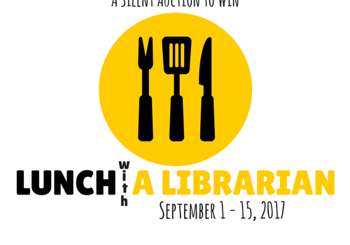 SHHHHH…A Silent Auction for Lunch with a Librarian