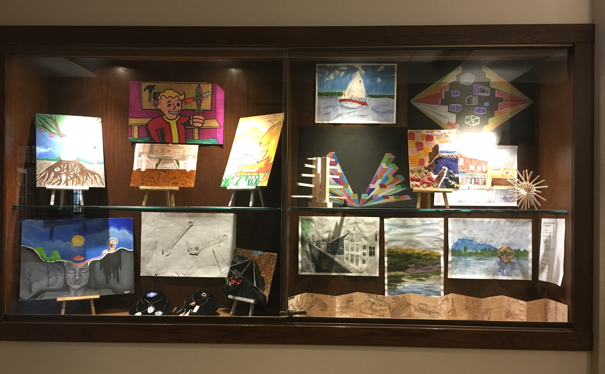 QVSD School District Display