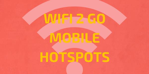 WiFi 2 Go – Mobile HotSpots