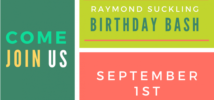 Mr. Suckling's Birthday Bash – September 1st Celebration!