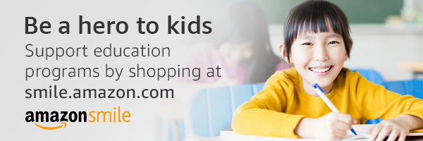 Be a hero to kids Support education programs by shopping at smile.amazon.com AmazonSmile