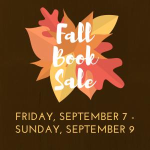 FOSPL Fall Book Sale!