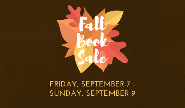 FOSPL Fall Book Sale!