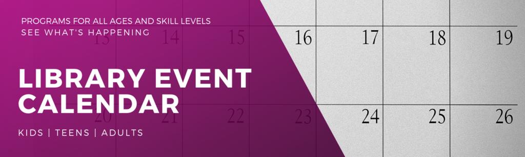 Library Event Calendar