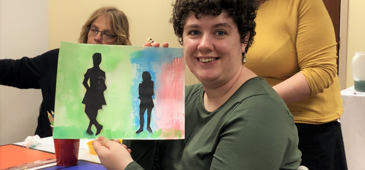 Creativity Flows at Adaptive Art Workshop