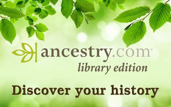 Access Ancestry.com at Home through June 30