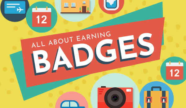 All About Earning Badges