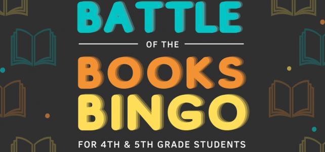 4th & 5th Grade Battle of the Books BINGO