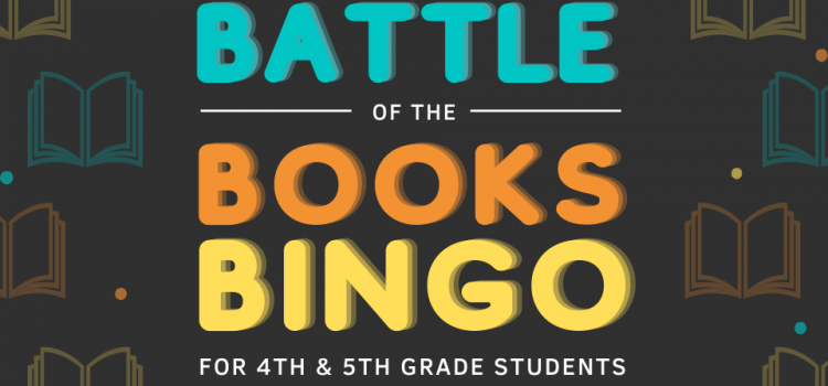 4th & 5th Grade Battle of the Books BINGO