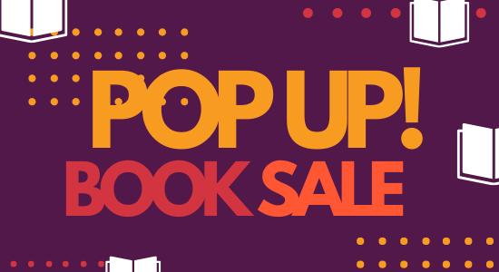 Pop-Up Book Sales begin March 20th