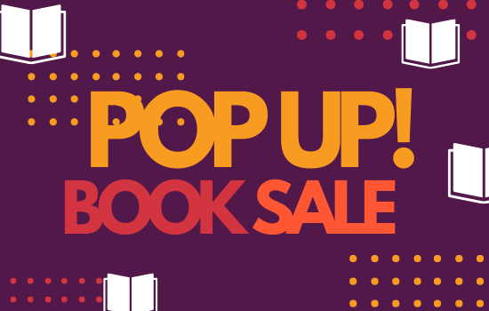 Pop-Up Book Sales begin March 20th