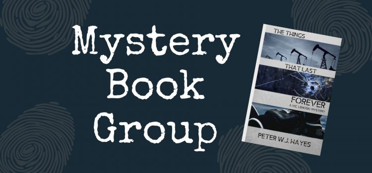 Mystery Book Group Welcomes Author